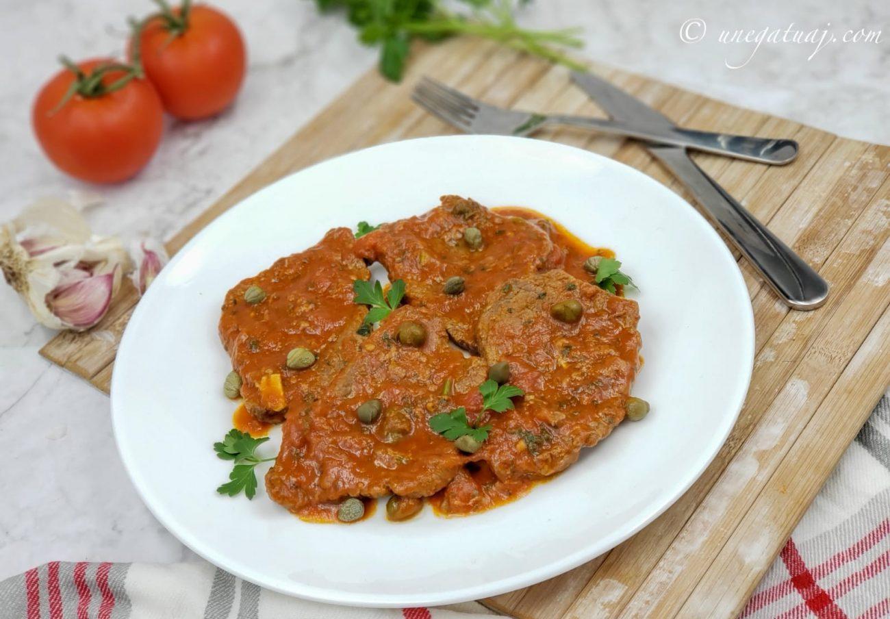 Fileto viçi me salcë pice