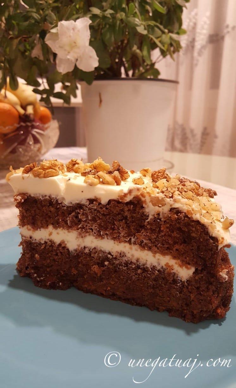 Tortë me karrota (Carrot Cake)