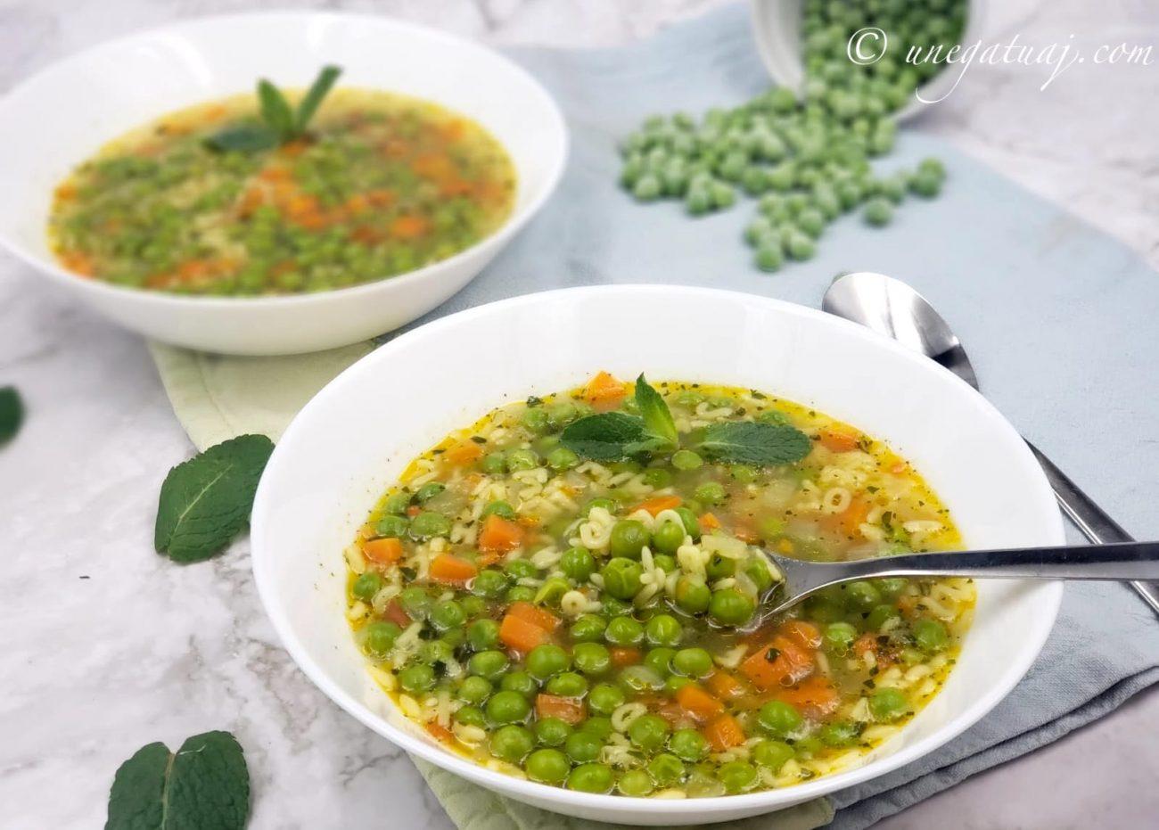 Supë me bizele