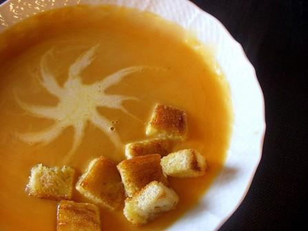 Supë krem me kungull