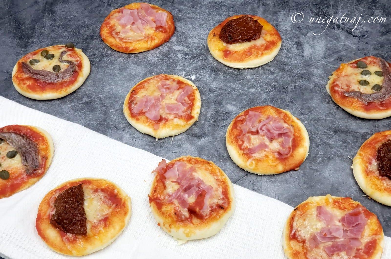 Pica të vogla me krem djathi