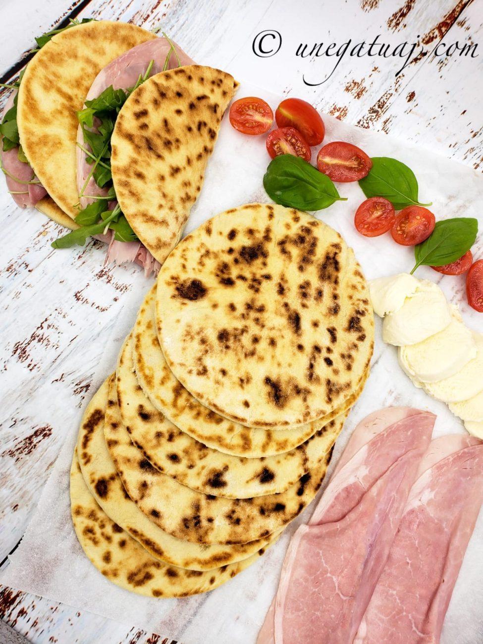 Pite italiane (piadine)