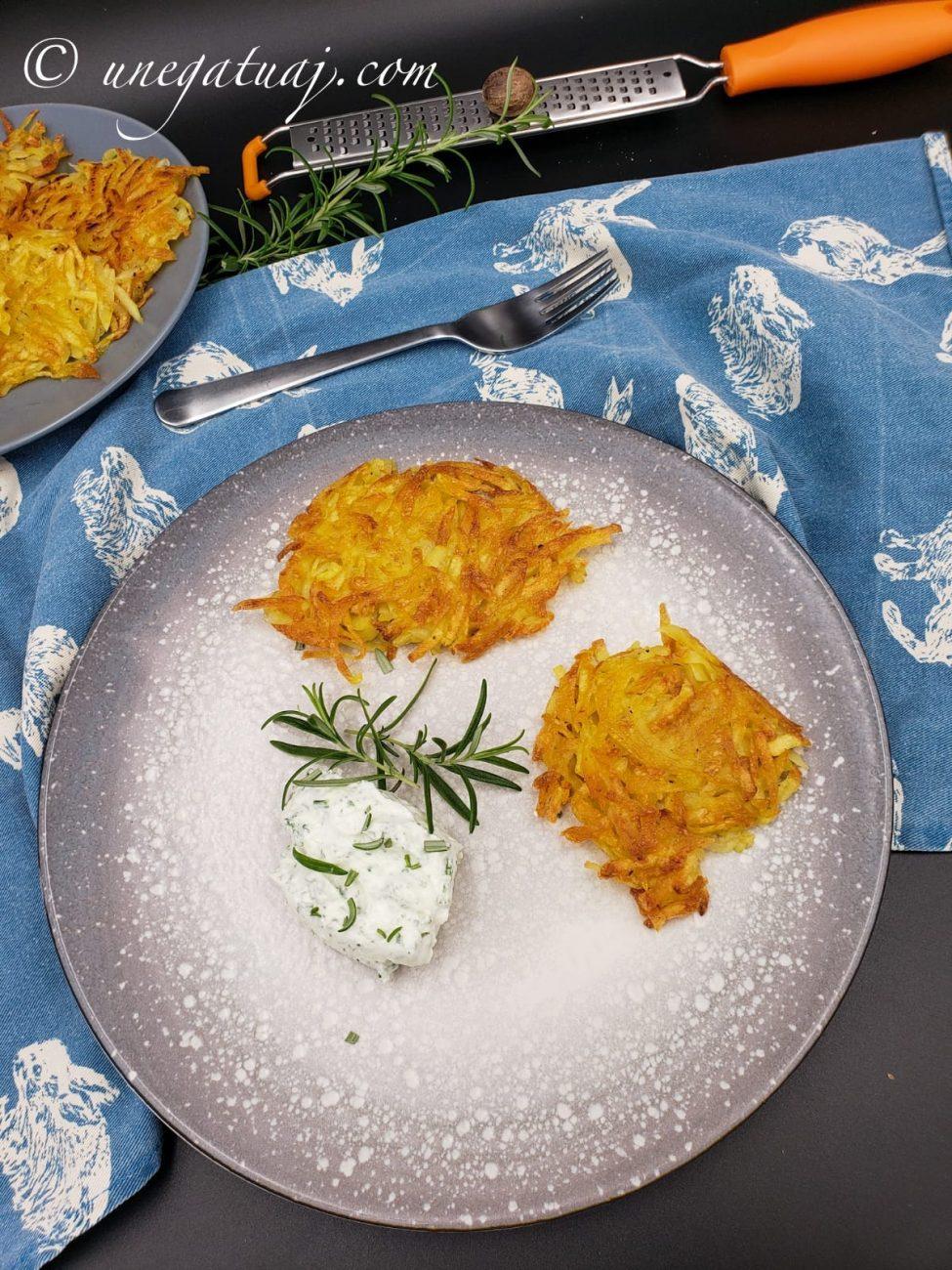Petulla patatesh (Rösti)