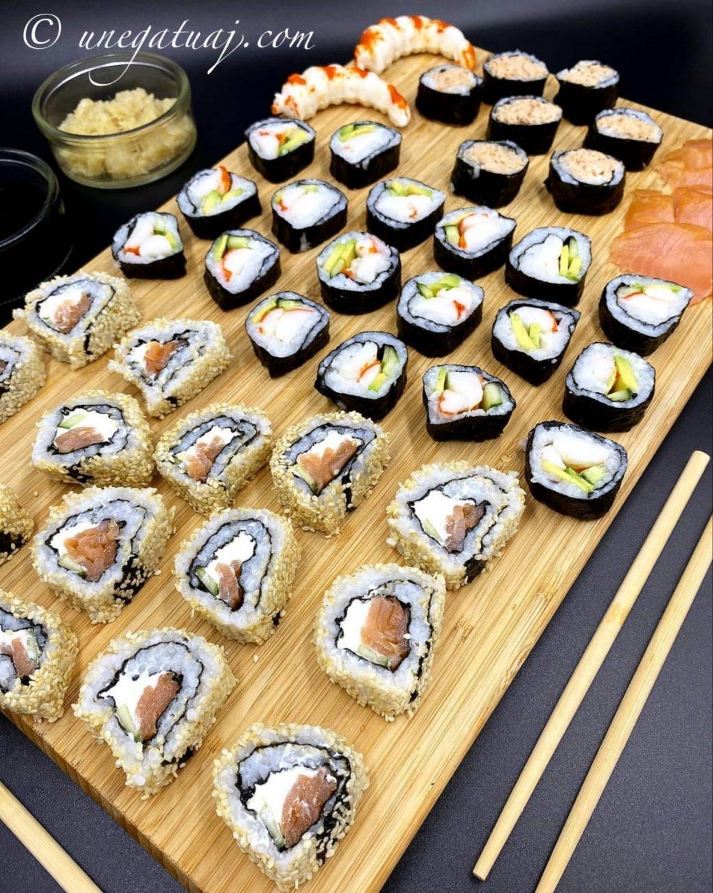 Sushi të bëra në shtëpi