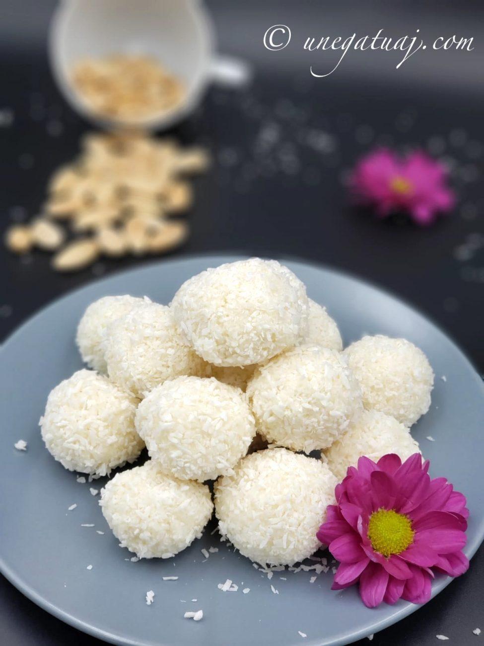 Toptha kokosi (Raffaello të bëra në shtëpi)